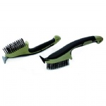 heavy duty wire brush with plastic handle
